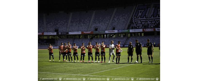 14 jucători au ajuns la finalul contractului cu FC Universitatea Cluj