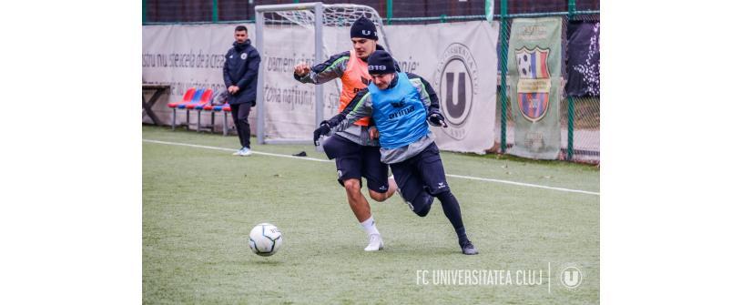 Șase jucători s-au despărțit de FC Universitatea Cluj înaintea noului sezon
