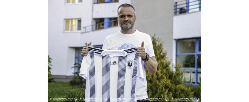 Erik Lincar, noul antrenor al Universității Cluj
