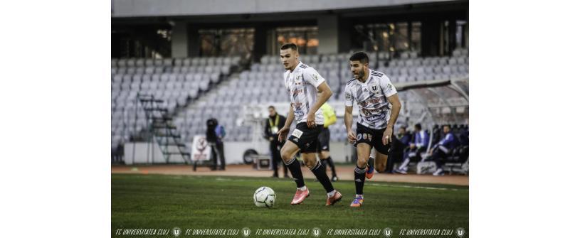 FC Universitatea Cluj - U Craiova: Luptăm până la capăt!