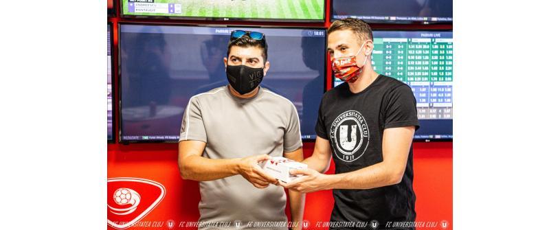 """Andrei Blejdea: """"Simt ca vom fi aproape să aducem clubului ceea ce lipsește de atâția ani: Promovarea!"""""""