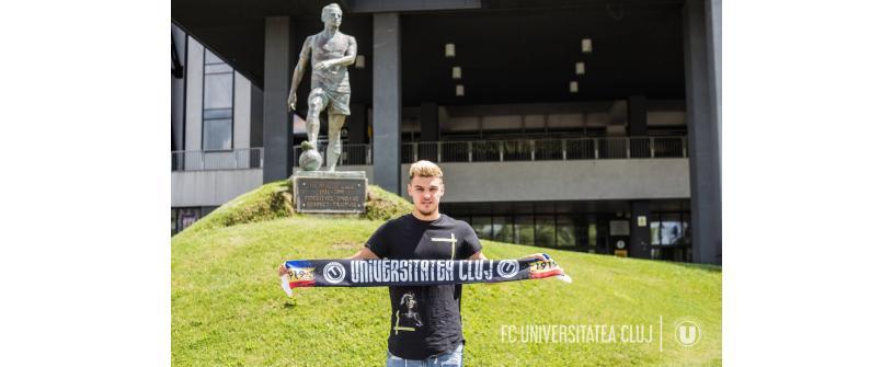 """Un jucător crescut de """"U"""", cu prezențe în UEFA Youth League, revine acasă"""