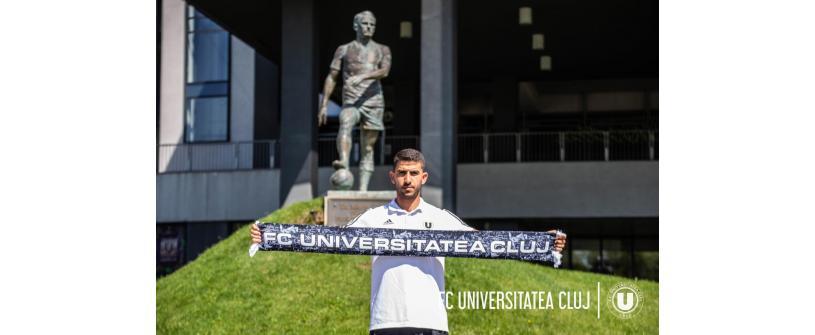 """Un mijlocaș ofensiv, câștigător al Cupei Israelului, vine la Universitatea: """"E un club cu istorie uriașă!"""""""