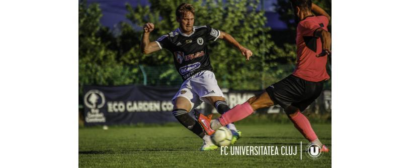 """""""U"""" – Unirea Dej 3-2. Idan a ajuns la 4 goluri în două meciuri"""