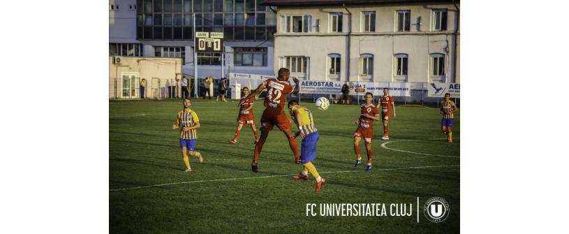 """Debut cu dreptul în noul sezon. Aerostar – """"U"""" 0-1"""
