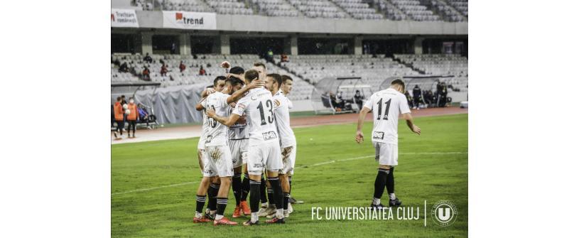 """Calificare în turul IV al Cupei României. FC Unirea Dej – """"U"""": 0-2"""
