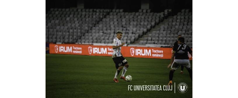 """Trei puncte și urcăm pe locul trei. CS Mioveni –  """"U"""": 0-1"""