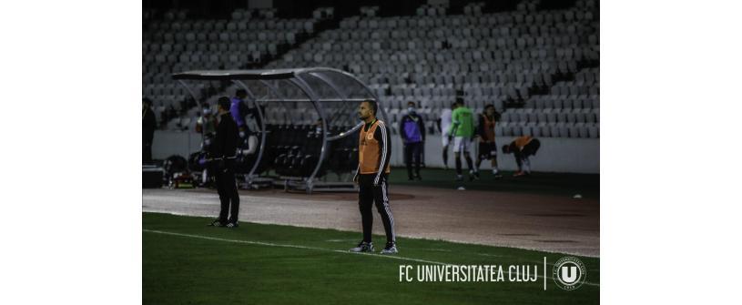 """CS Mioveni – """"U"""": 0-1. Costel Enache:"""" E un pas înainte și ne dă încredere"""""""