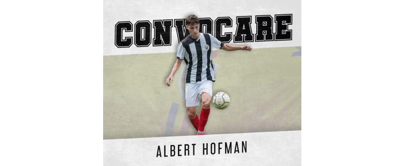 Albert Hofman, convocat în premieră la lotul național!