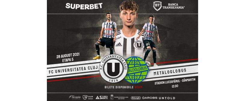 """""""U"""" vs Metaloglobus se joacă la Sânmartin"""