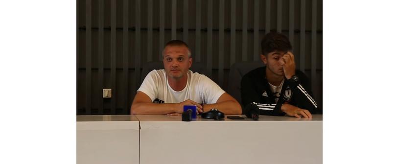 CONFERINȚĂ DE PRESĂ | Erik Lincar și Victor Dican înainte de prima etapă