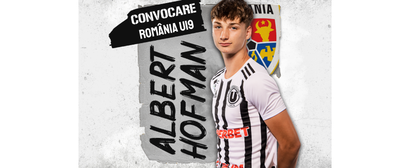 România U19. Albert Hofman va juca sub tricolor