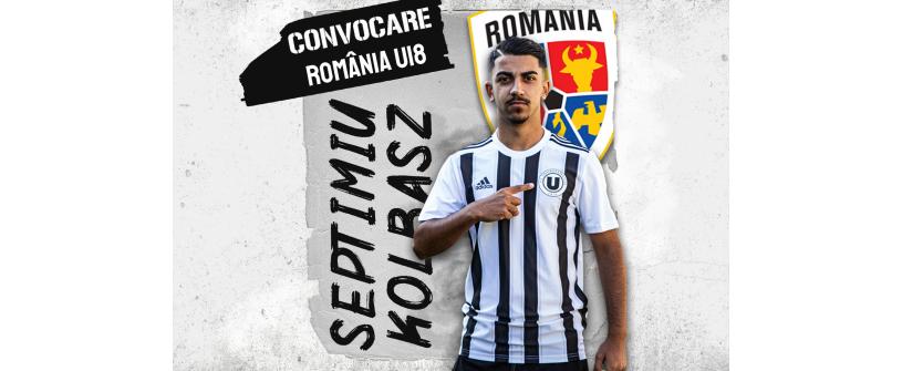 România U18. Septimiu Kolbasz alături de naționala U18 la Turneul celor 4 Națiuni