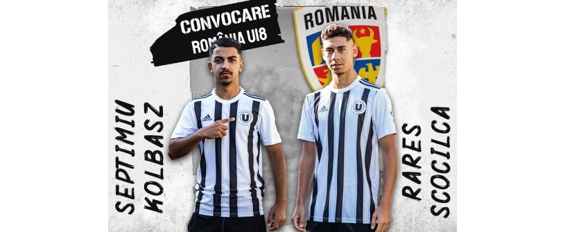 România U18. Septimiu Kolbasz și Rareș Scocîlcă convocați la o nouă acțiune