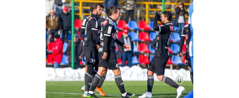"""Prima victorie în pregătiri. """"U"""" – Avântul Reghin 5-0"""