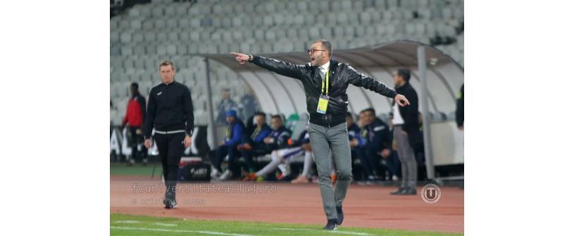 """Restart la """"U"""" Cluj. """"S-a încheiat un ciclu, începe altul. Vrem 11 victorii!"""""""