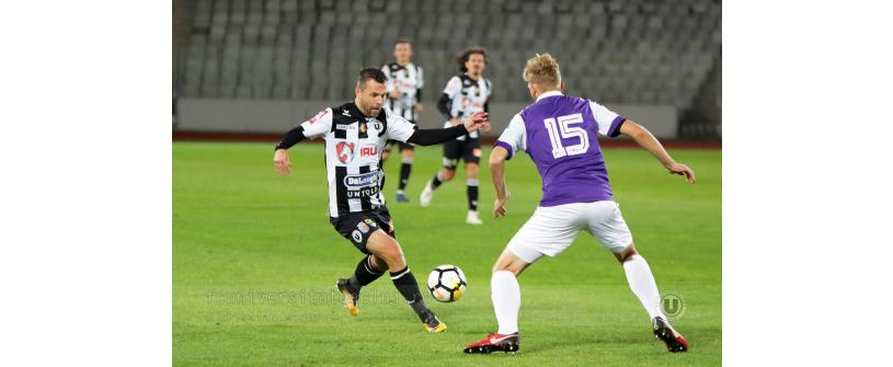 """Teren dezolant şi derby fără goluri. Sportul Snagov – """"U"""" Cluj 0-0"""