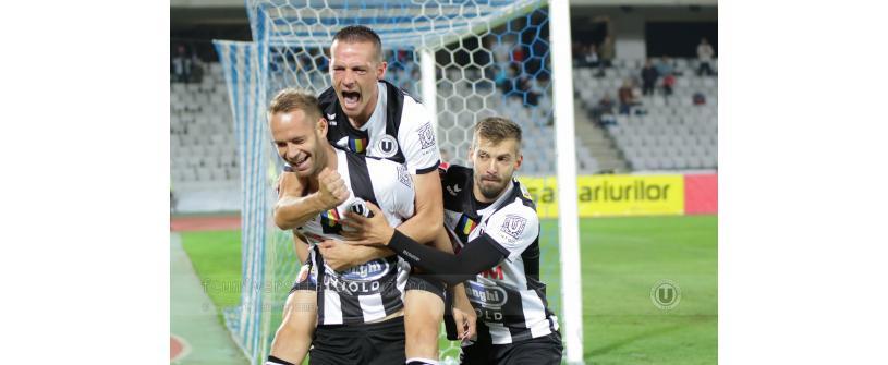 "Nemeritata eliminare din Cupa României. ""U"" Cluj – Astra Giurgiu 3-4"
