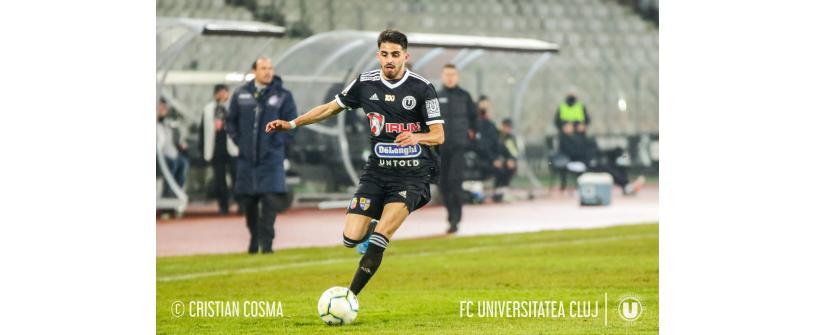 """Remiză în primul meci al anului. """"U"""" – FC Argeș: 1-1"""