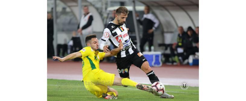 """""""U"""" Cluj – CS Mioveni 1-2"""