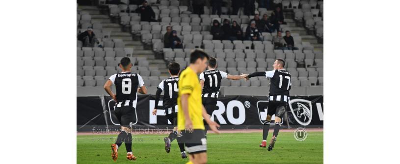 "Salvați de Abrudan. ""U"" Cluj – ACS Fotbal Comuna Recea 3-2"