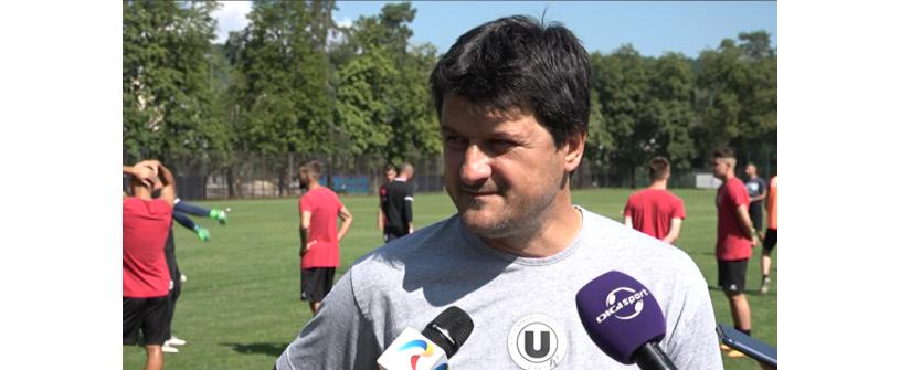 """""""Studenții"""", primul antrenament acasă după întoarcerea din Italia. Ce spun Falub și Gavra despre cantonamentul din """"Cizmă"""" și startul noului sezon de Liga 2"""