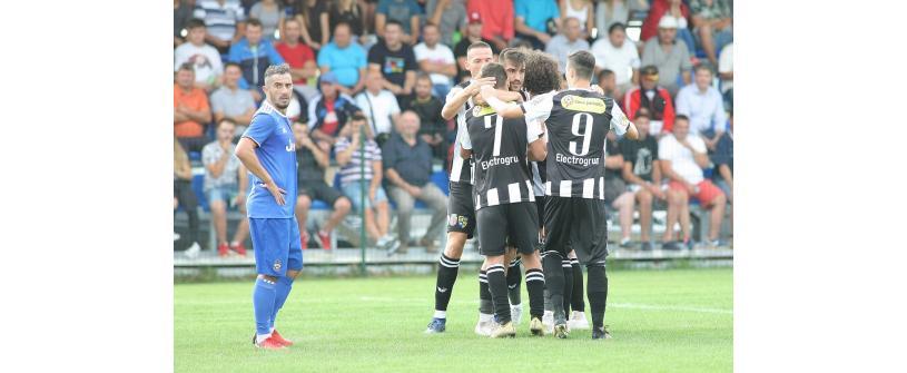 """Mergem în """"16-imile"""" Cupei României. ACS Fotbal Comuna Recea – """"U"""" Cluj 1-3"""