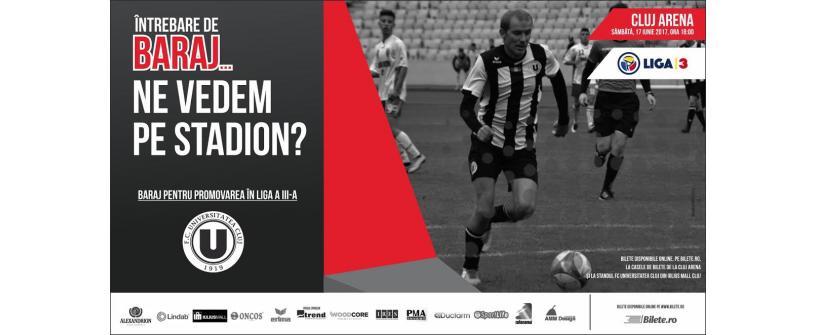 Biletele pentru barajul de promovare în Liga a III-a, disponibile online