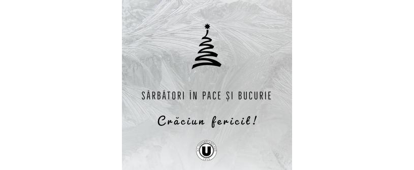 """FC Universitatea Cluj vă urează """"Crăciun fericit!"""""""