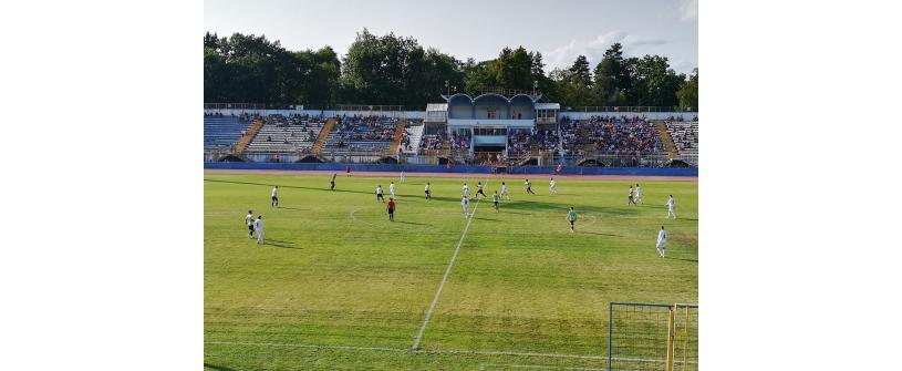 """Misiune îndeplinită la Bistriţa. ACS Unu Fotbal Club Gloria – """"U"""" Cluj 1-2"""