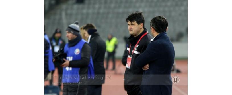 """Falub: """"Suntem pe un loc meritat. """"U"""" Cluj trebuie să ajungă să se bată pentru trofee"""""""
