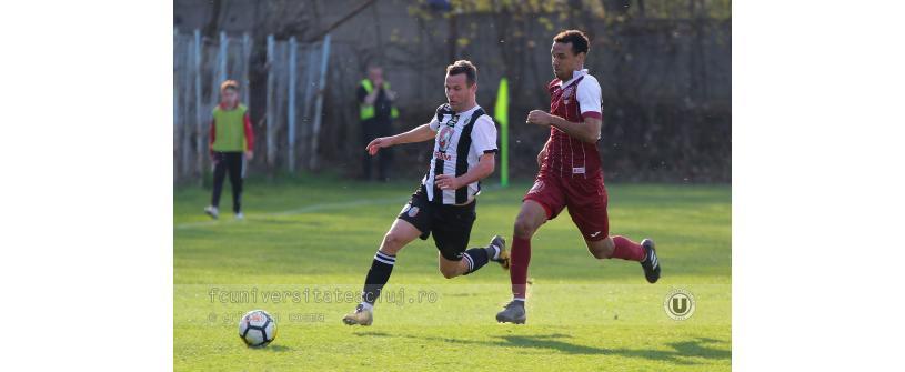 "CFR 2 – ""U"" Cluj 2-1"