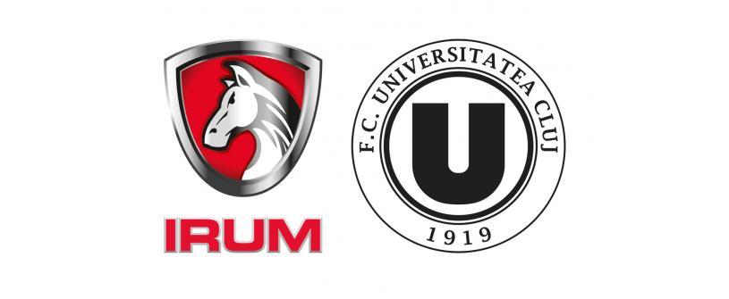 FC Universitatea Cluj și IRUM, parteneriat pentru performanță
