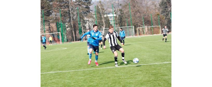 "De neoprit. ""U"" Cluj – FC Zalău 3-1"