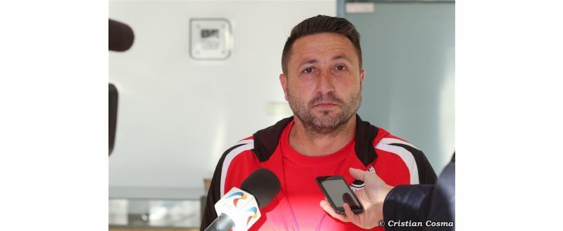 """Marius Popescu, despre finalul sezonului: """"Vrem să ne îndeplinim toate obiectivele """""""