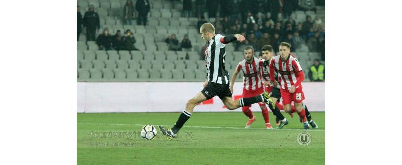 """Din nou în """"optimile"""" Cupei României! Progresul Spartac Bucureşti – """"U"""" Cluj 0-1"""