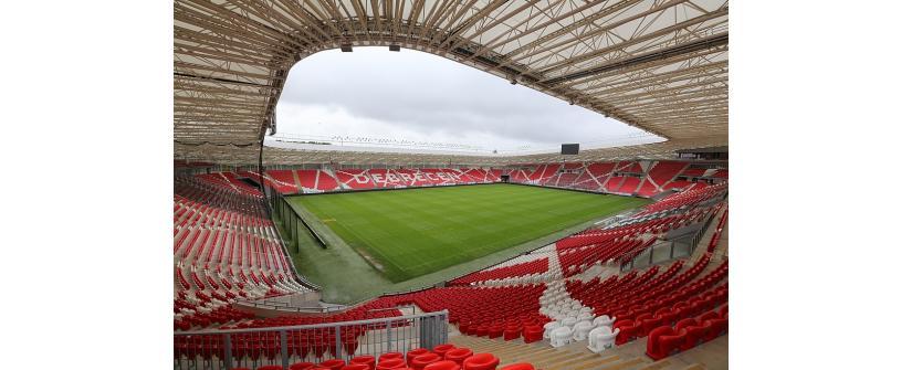 Amicalul cu Debreceni VSC se joacă pe stadionul Nagyerdei