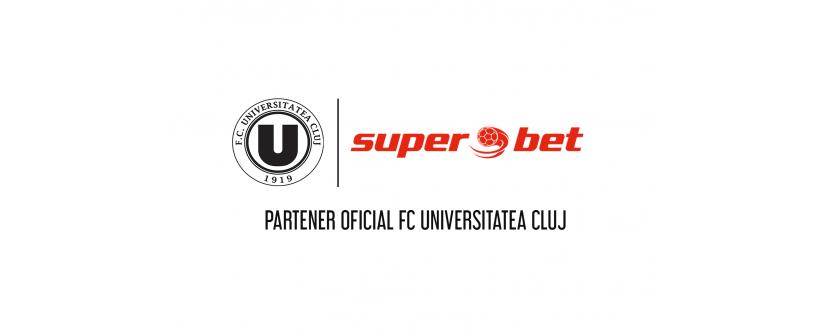 Superbet, noul partener oficial al FC Universitatea Cluj