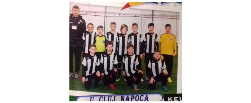 """Juniorii Academiei """"U""""-Luceafărul, locul 4 la un puternic turneu """"indoor"""""""