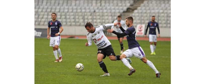 """Derby fără goluri. """"U"""" – Poli 0-0"""