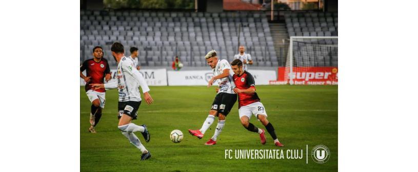 CSM Reşiţa - FC Universitatea Cluj LIVETEXT