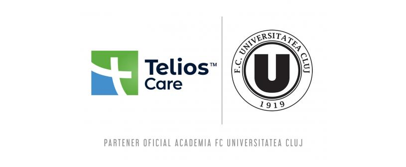 Telios Care, noul partener oficial al Academiei FC Universitatea Cluj