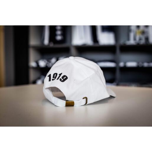 Șapcă albă adulți cu sigla FC Universitatea Cluj