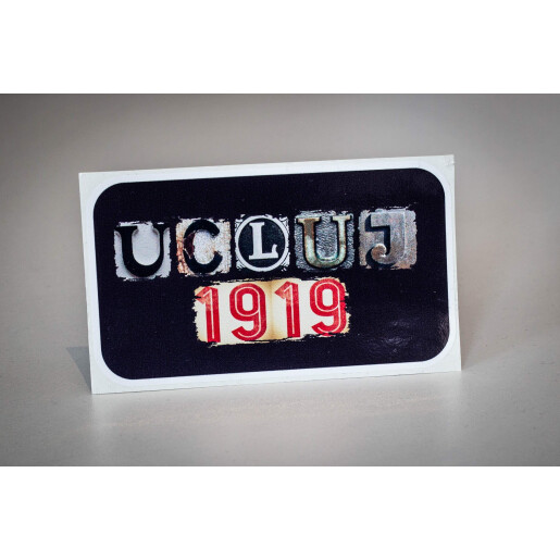 "Sticker ""U Cluj 1919"""