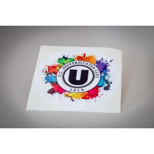 """Sticker """"Siglă oficială colorată"""""""