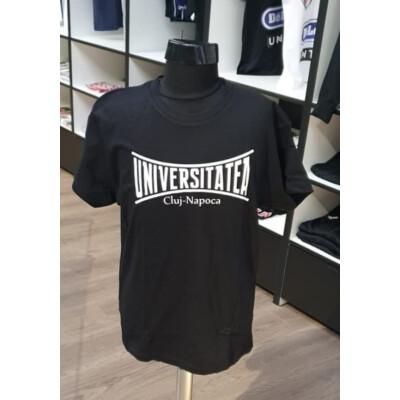 Tricou negru copii Universitatea Cluj
