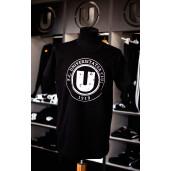 Tricou negru cu sigla FC Universitatea Cluj