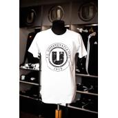 Tricou alb cu sigla FC Universitatea Cluj
