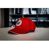 Șapcă roșie adulți cu sigla FC Universitatea Cluj