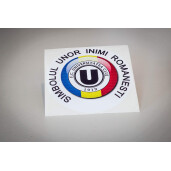 "Sticker ""Simbolul unor inimi românești"""